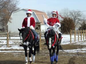 Santa and Mrs. Claus 4x6